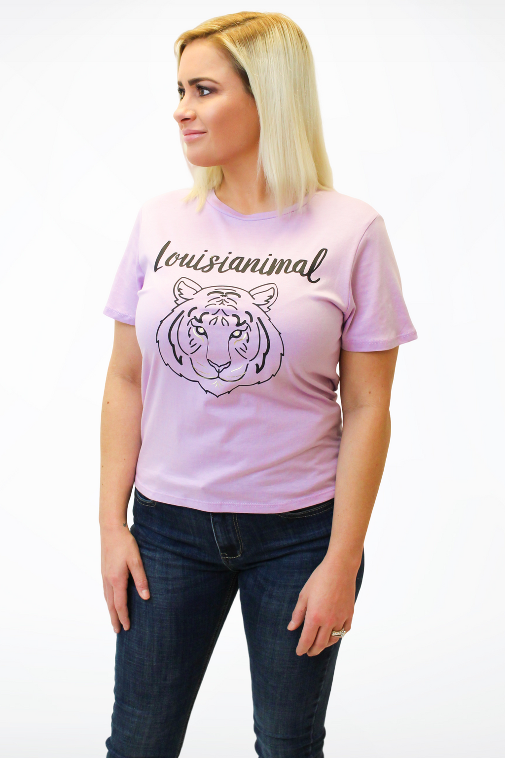 """Louisiananimal"" Graphic Tee-Article & Thread Boutique"