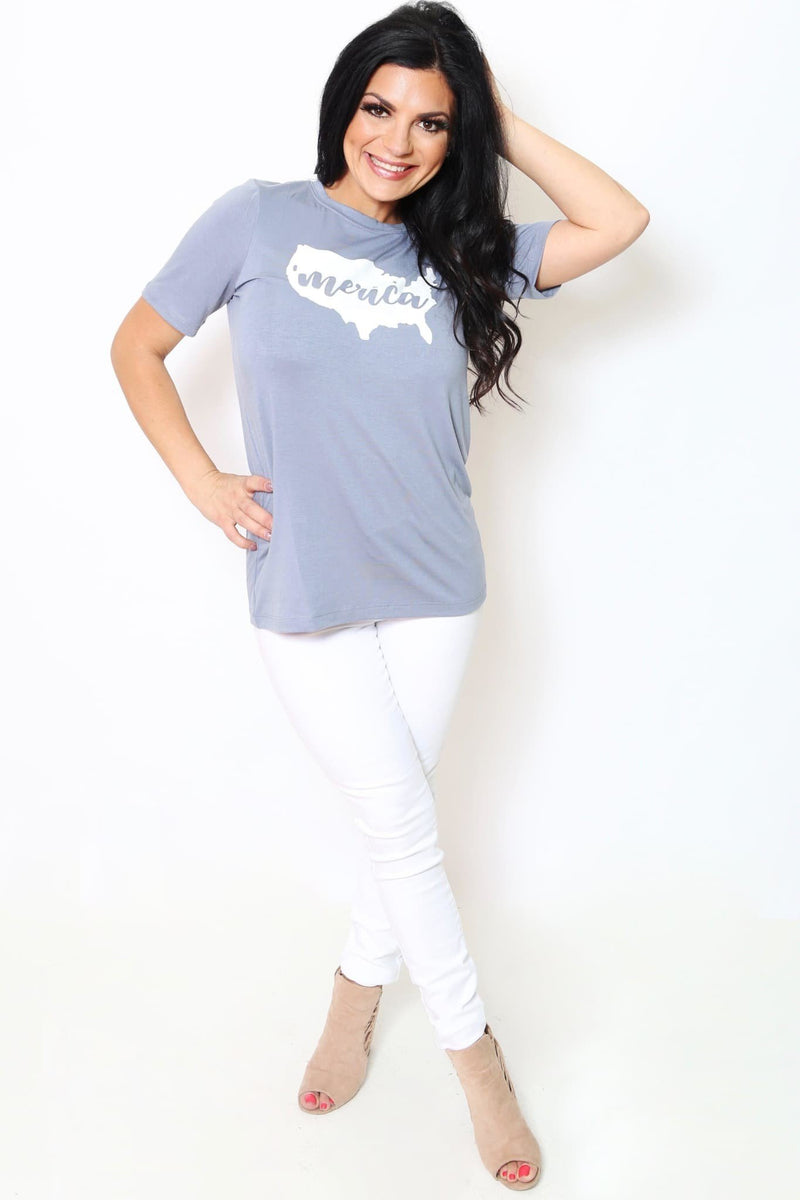 'Merica Relaxed Tee-Article & Thread Boutique