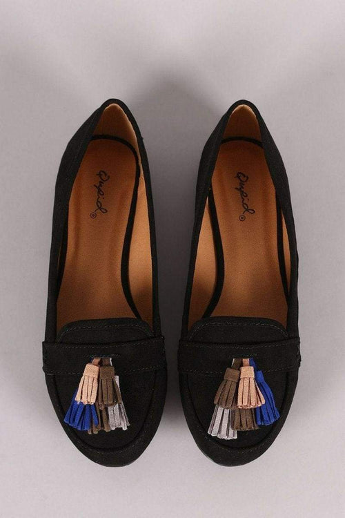 Multi Color Tassel Loafer-Article & Thread Boutique