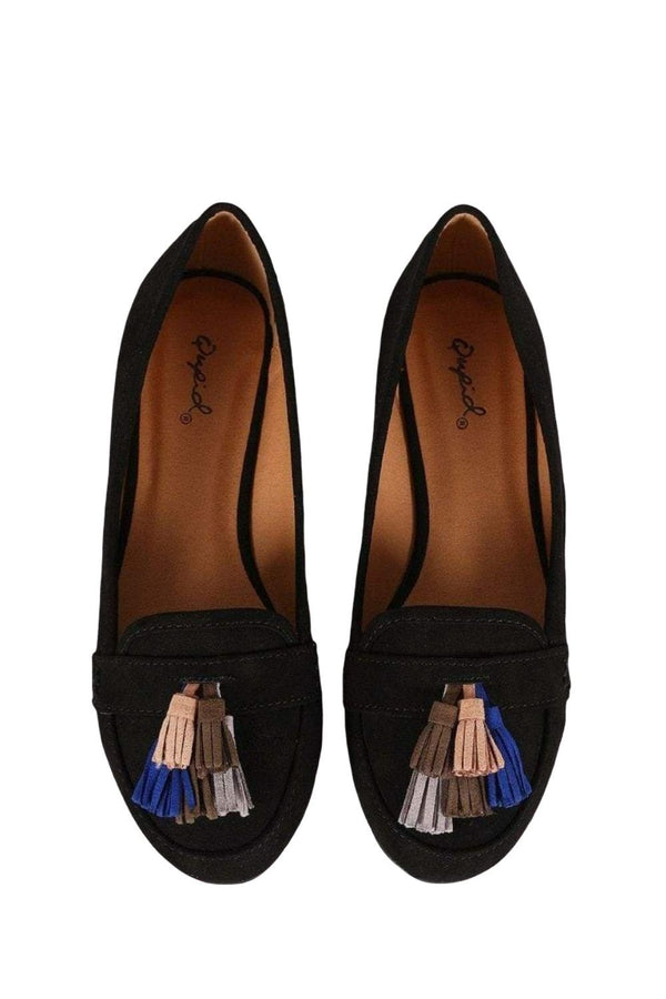 Multi Color Tassel Loafer from Shoes Collection