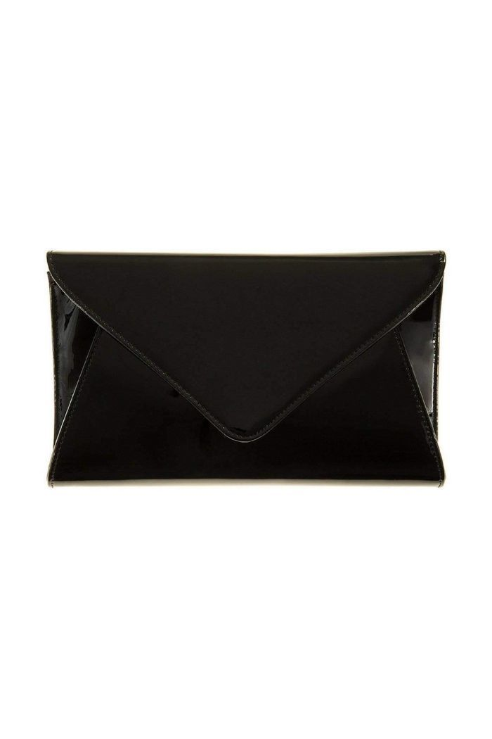 Patent Leather Envelope Clutch-Article & Thread Boutique