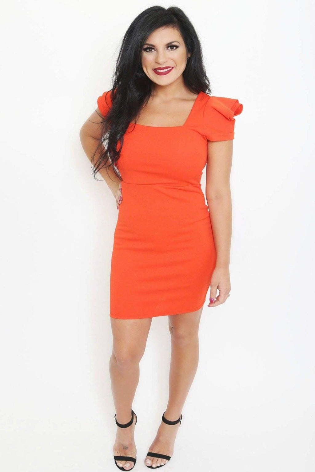 Puff Sleeve Mini Dress from Dresses Collection