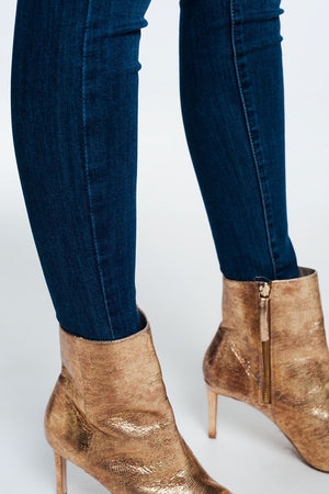 Skinny Shape Up Jeans In Dark Wash-Article & Thread Boutique