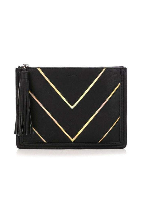 Tassel Zip Up Clutch-Article & Thread Boutique