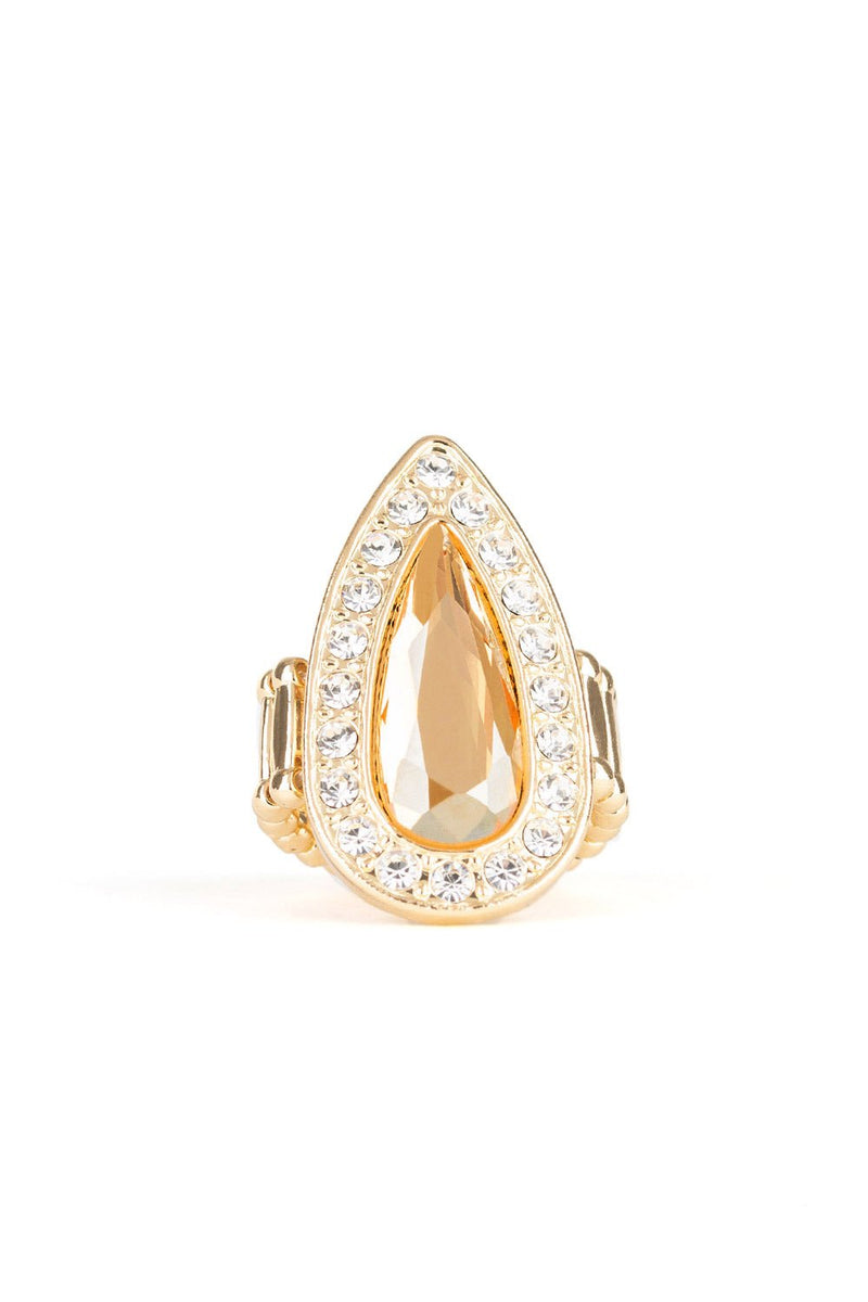 Teardrop Stretch Band Ring-Article & Thread Boutique