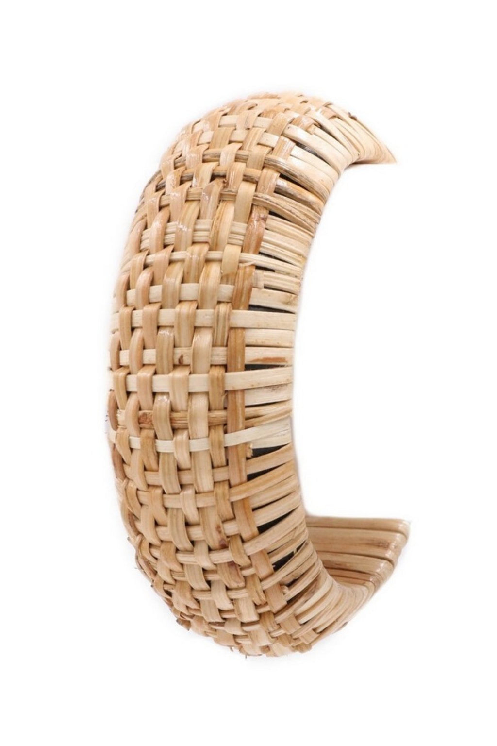Threaded Straw Bangle Bracelet-Article & Thread Boutique