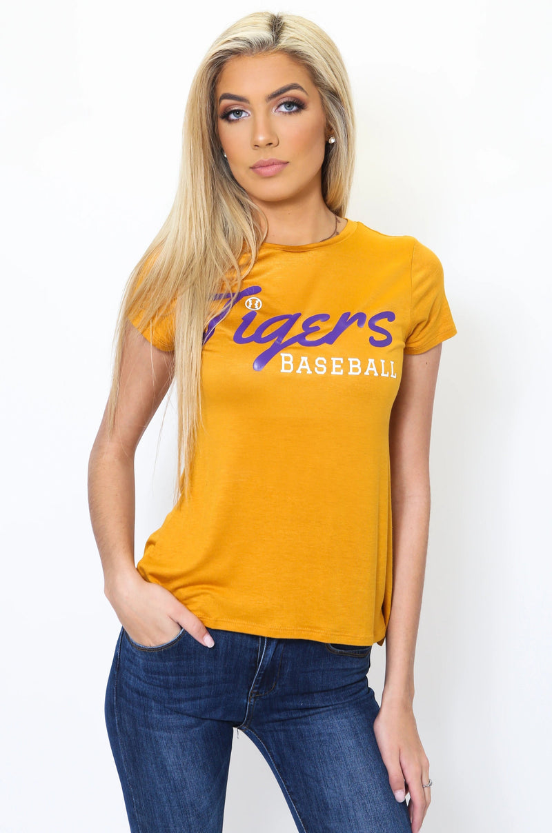Tigers Baseball Tee-Article & Thread Boutique
