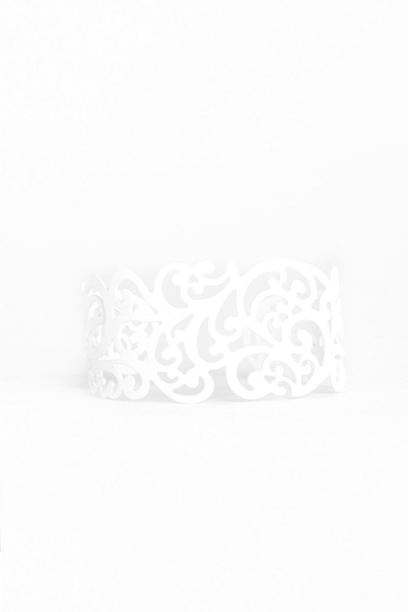 White Vine Cuff Bracelet-Article & Thread Boutique