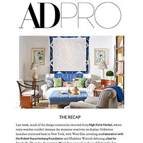 Architectural Digest | Madeline Weinrib Press 2017