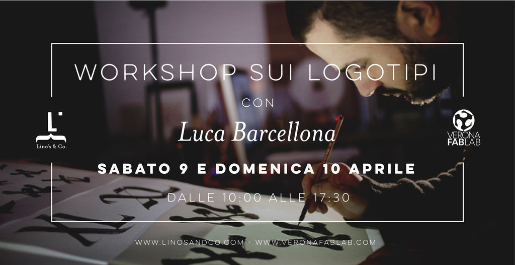 Workshop sui logotipi con Luca Barcellona