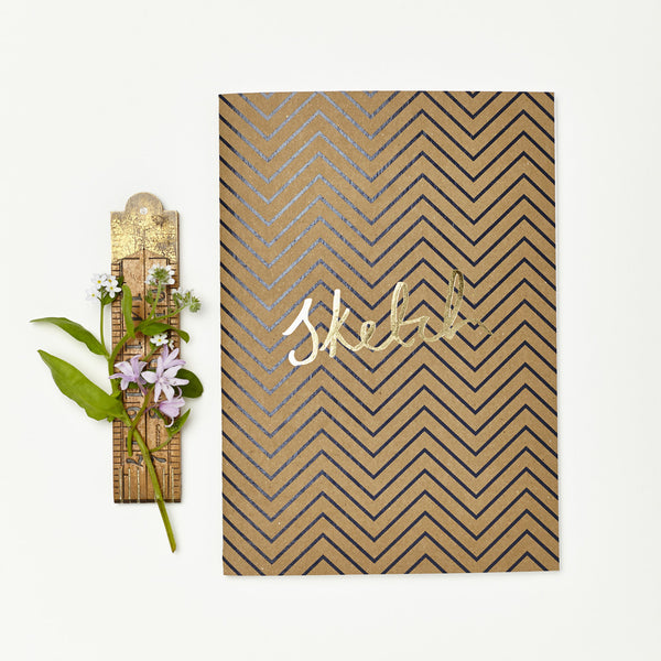 "Notebook ""Sketch - Zig Zag"""