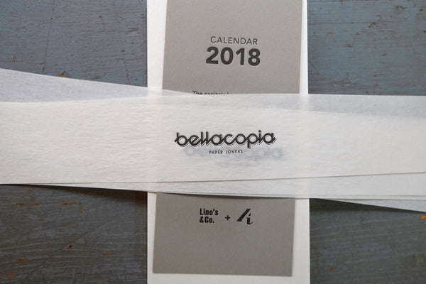 Calendario da tavolo Bellacopia - Lino's & Co