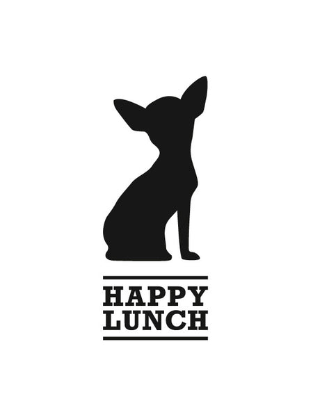 Lavagna adesiva - Happy Lunch Cane