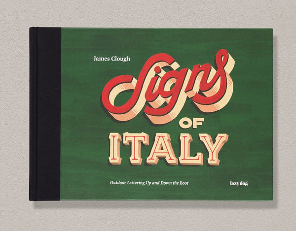 "Libro ""Signs of Italy"" di James Clough"