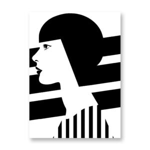 Geometric girl - LUISA TOSETTO