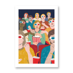 At the movies - MARTA PANTALEO
