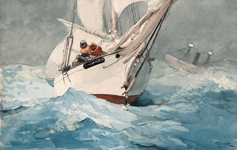 AGOOA Blog | American Watercolor in the Age of Homer and Sargent exhibit | Philadelphia Museum of Art | Natural Jewelry | JewelryThatEmpowersYou