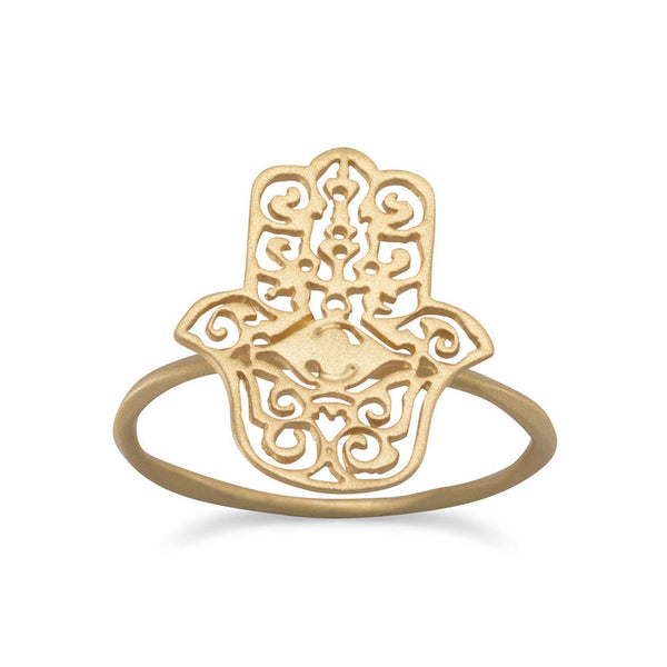 Protect Me Hamsa Ring - AGOOA Inspiring and Natural Jewelry that Empowers You