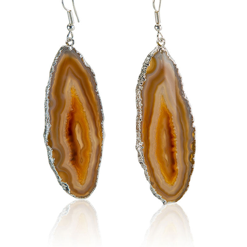 To the Deepest Core Earrings - AGOOA Inspiring and Natural Jewelry that Empowers You
