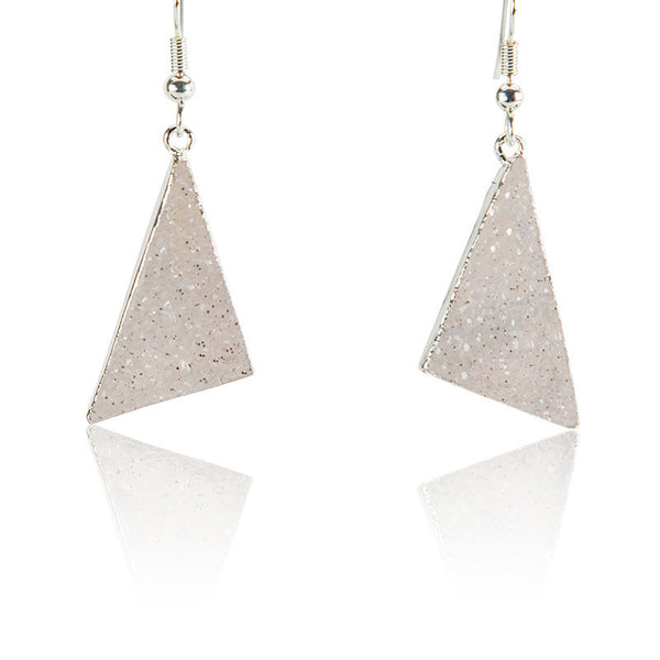 Pyramid Power Earrings - AGOOA Inspiring and Natural Jewelry that Empowers You