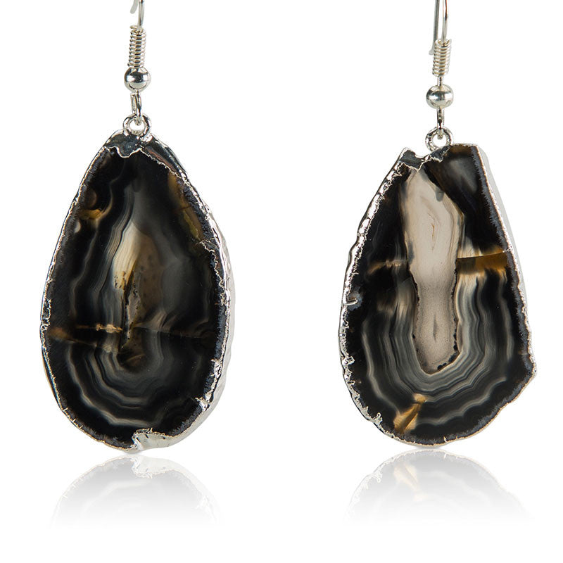 Strong as Stone Earrings - AGOOA Inspiring and Natural Jewelry that Empowers You