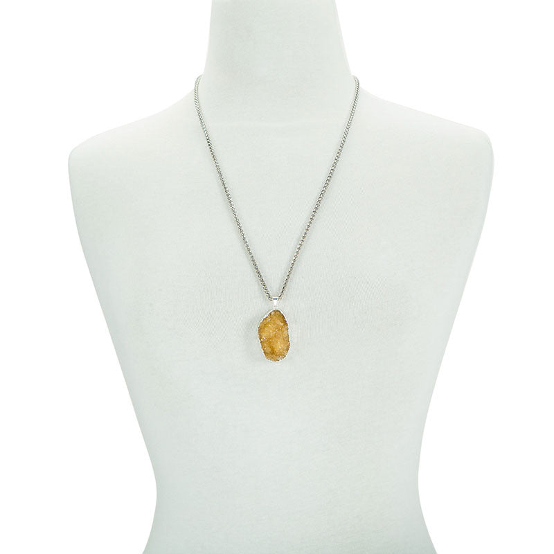 A Drop of Sunshine Necklace - AGOOA Inspiring and Natural Jewelry that Empowers You