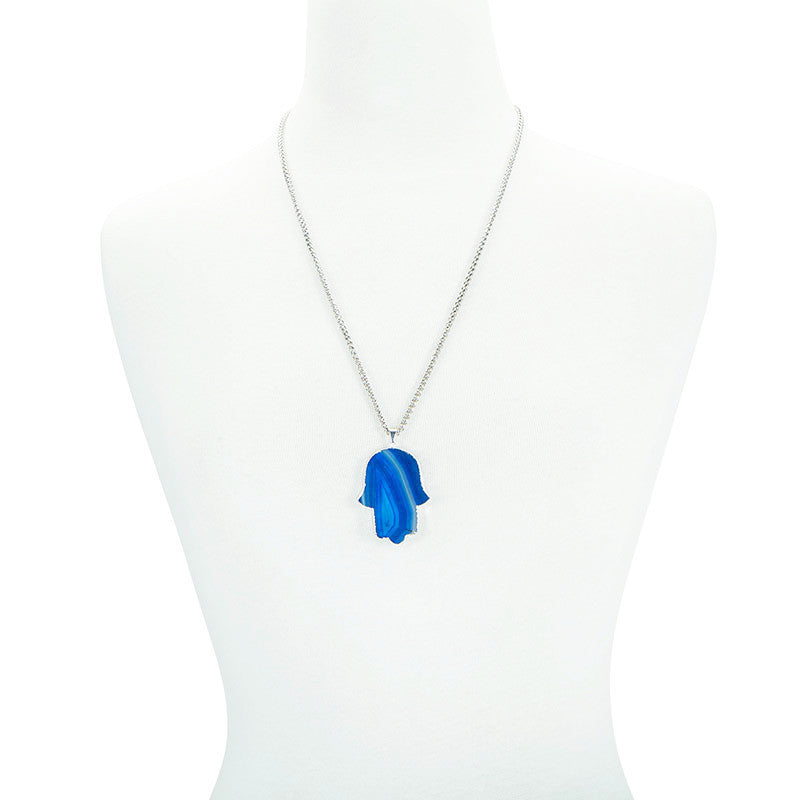 Hamsa in Harmony Necklace - AGOOA Inspiring and Natural Jewelry that Empowers You