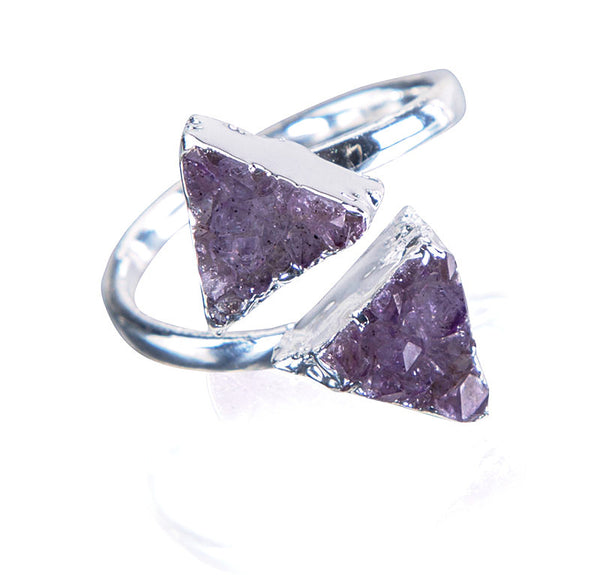 Mystic Triangle Ring - AGOOA Inspiring and Natural Jewelry that Empowers You