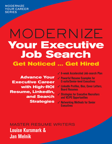 Modernize Your Executive Job Search