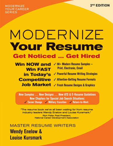 Modernize Your Resume—2nd Edition