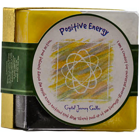 Positive Energy Square Votive Candle (set of 4)