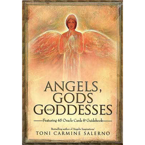 Angels, Gods, and Goddesses Oracle Deck and Book by Toni Carmine Salerno