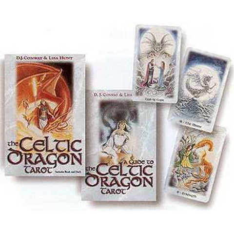 Celtic Dragon Tarot Deck and Book by Conway and Hunt