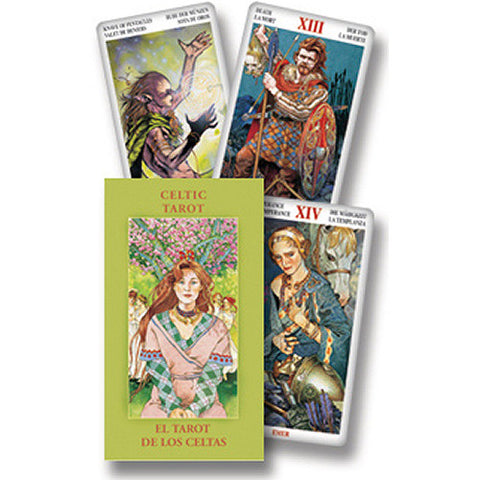 Celtic Mini Tarot Deck by Davis and Paterson