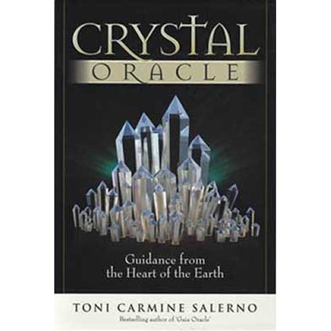 Crystal Oracle Deck and Book by Toni Carmine Salerno