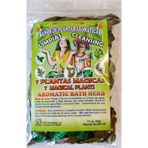 7 Magical Plants Aromatic Bath Herb