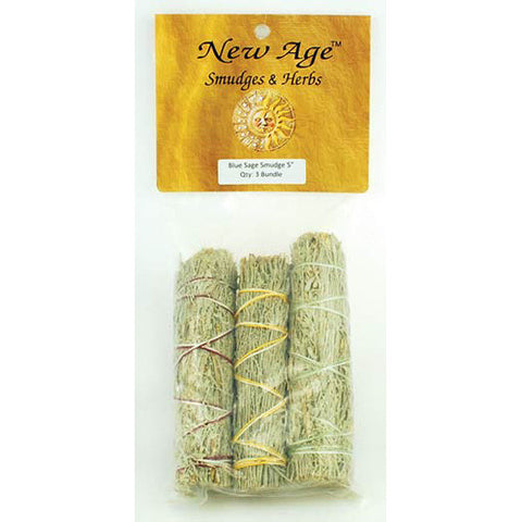 Blue Sage Smudge Stick (3-pack)