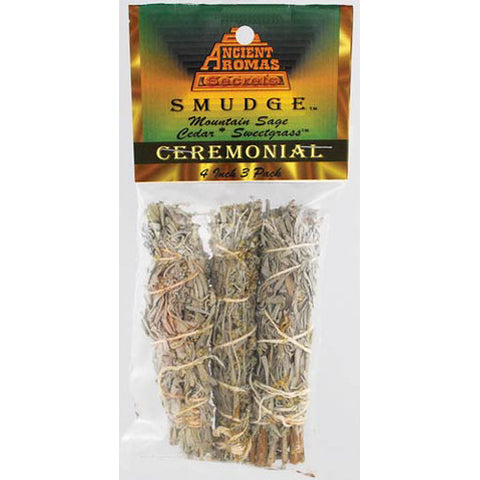 Ceremonial Smudge Sticks (3-pack)