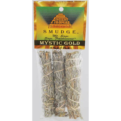 Mystic Gold Smudge Sticks (3-pack)