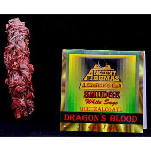 Dragon's Blood and White Sage Smudge Stick
