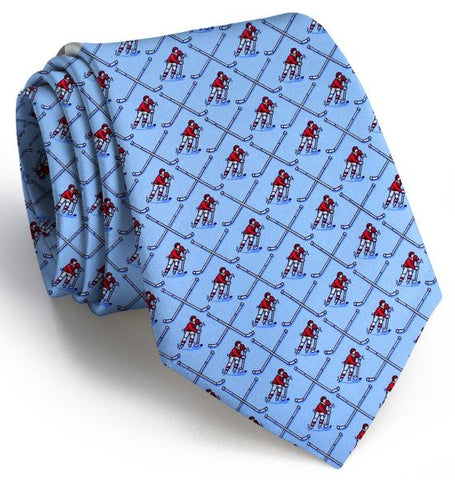 Bird Dog Bay Boys' Hockey Camp Tie in Blue