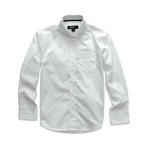 Johnnie-O Daly Jr. Button Down Shirt in White