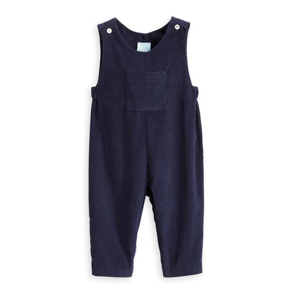 Bella Bliss Corduroy Overall in Navy