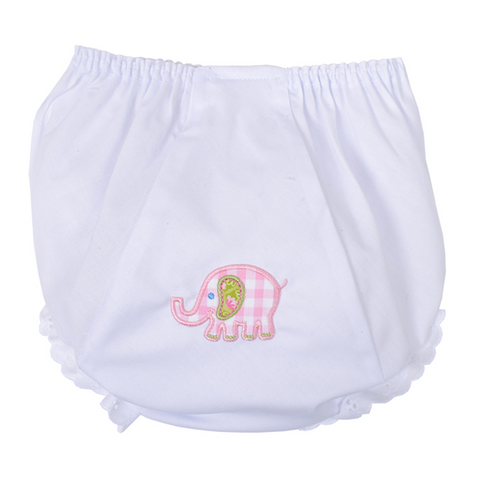 3 Marthas Elephant Bloomers in Pink