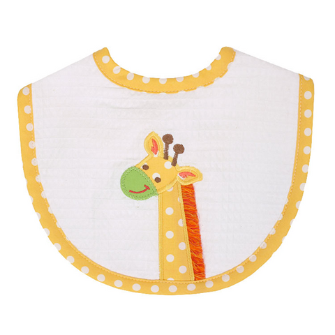 3 Marthas Giraffe Bib in Yellow