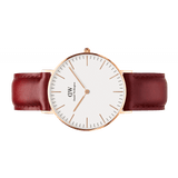 DW Suffolk 40mm Men's Watch in Rose Gold w/White Dial