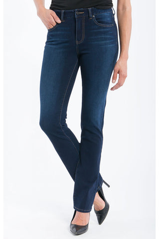 Liverpool Sadie Straight Jeans in Cleveland Dark