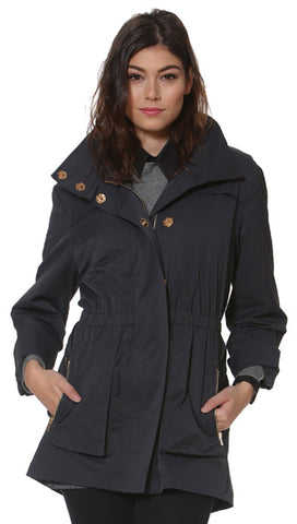 Ciao-Milano Tess Jacket in Charcoal