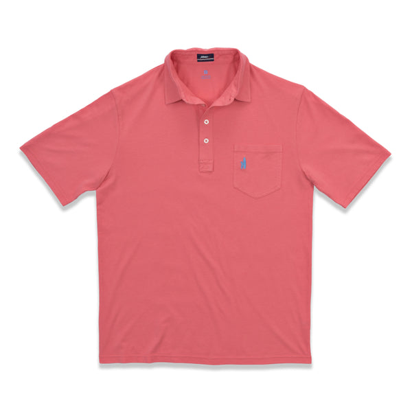 Johnnie-O The Original Polo Shirt in Coral Reef