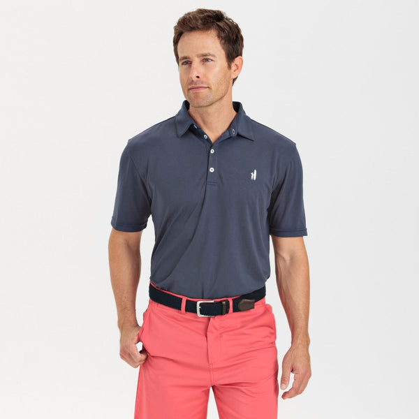 Johnnie-O Fairway Prep-Formance Polo Shirt in Midnight